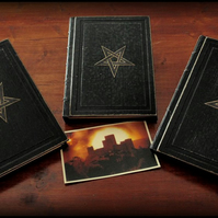 3 books SET of The Nine Gates to the Kingdom of Shadows - BLACK