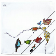 Napkins - Bird on a wire design