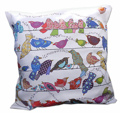 Cushions - Bird on a wire