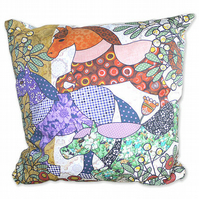 Cushion Cover - Horse,  Pony- Giddy Up