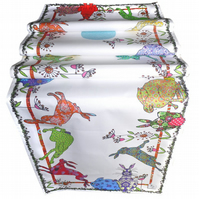 Hare Table Runner - Hare design - Flick of Hares Table Decoration