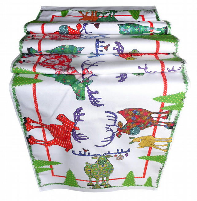 Table Runner - Reindeer Cheer