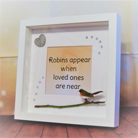 NEW Robins Appear When Loved Ones Are Near Frame