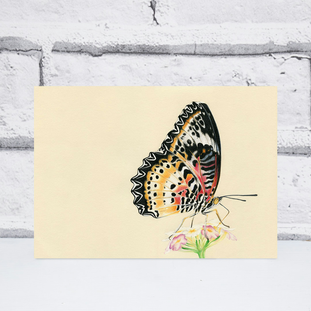 A5 Butterfly Print
