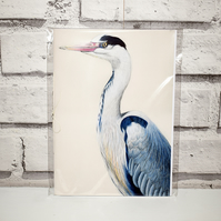 A5 Handmade Heron Notebook