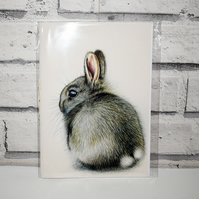 A5 Handmade Wild Rabbit Notebook