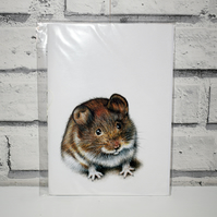 A5 Handmade Mouse Notebook