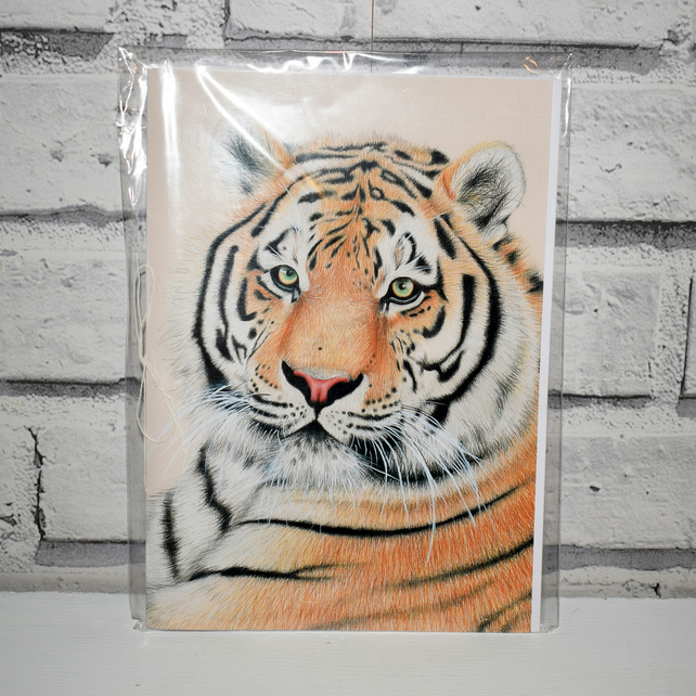 A5 Handmade Tiger Notebook