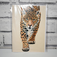 A5 Handmade Jaguar Notebook