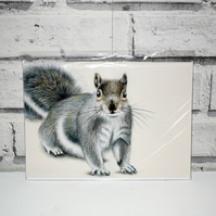 A5 Handmade Grey Squirrel Notebook
