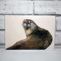 A5 Handmade Otter Notebook