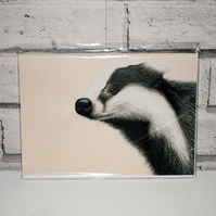 A5 Handmade Badger Notebook