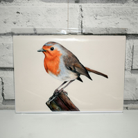 A5 Handmade Robin Notebook