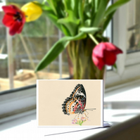 A6 Butterfly Greetings Card