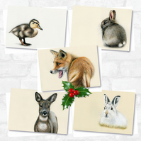 A6 'Christmas' Greetings Card Pack