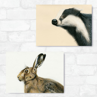 A3 Badger & Hare Bundle