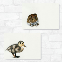A3 Mouse & Duckling Bundle