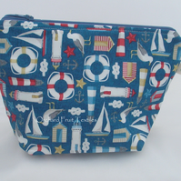 All at sea!     Zipped Waterproof pouch