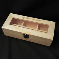 'my little treasure' jewellery box