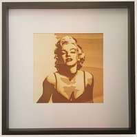 'seductive Marilyn' artwork