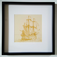 'pirate ship' artwork