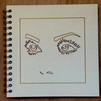 'i can see you' notebook