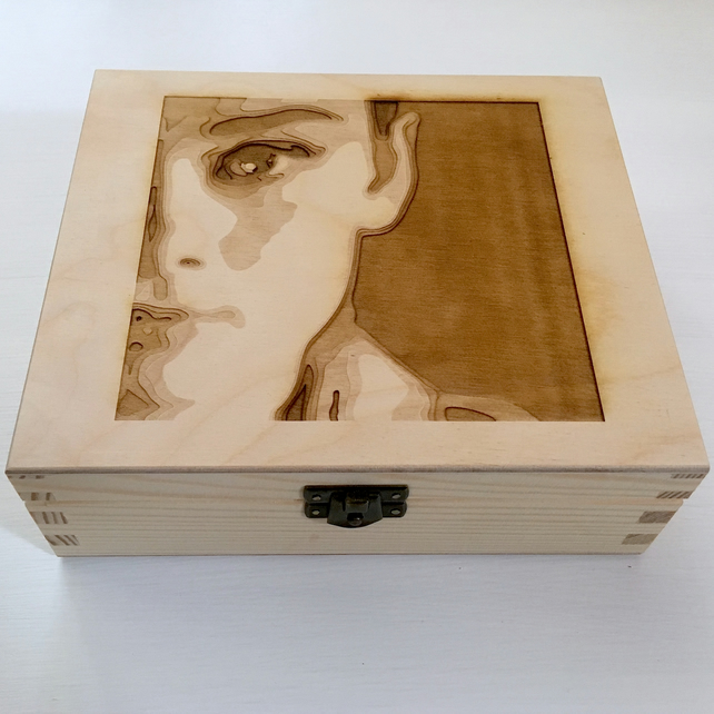 'audrey' jewellery box