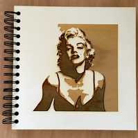 'marilyn' notebook