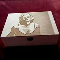 'marilyn' jewellery box
