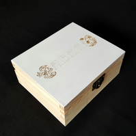 personalised 'for you from me' box