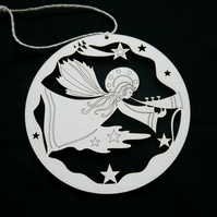 'melody angel' christmas tree decoration