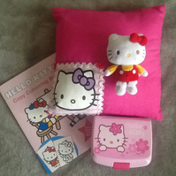 Hello Kitty cushion bundle - ideal extra present