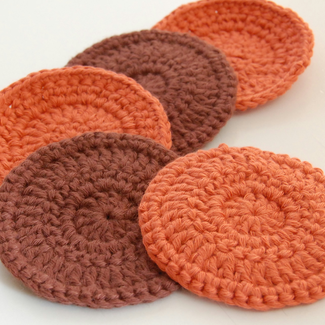 Organic Cotton Face Scrubbies