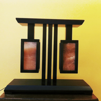 Handcrafted Himalayan Salt Table Light, Table Lamp, Floor Lamp