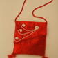 Red Velvet Evening bag