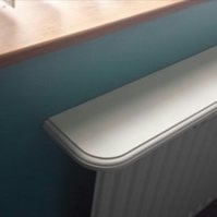 made to order Professional Radiator Shelf - 1500mm Bespoke Sizes Available
