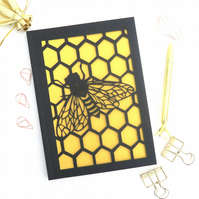 Bee notebook, Bee lover gift, Stationery gift, Nature lover gift, Cute notebook