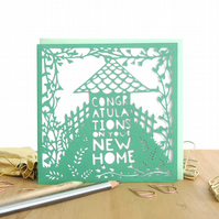 New Home card, You're moving card, Congrats on your new home card