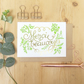 Merci beaucoup card, French thank you card, Wedding thank you card