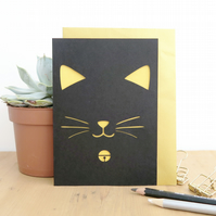 Cat lover card, Birthday cat card, Cat card, Birthday card for men,Cat lady card