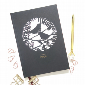 Perpetual diary, Anydate planner, Nature lover gift, Mum birthday gift, A5 Diary