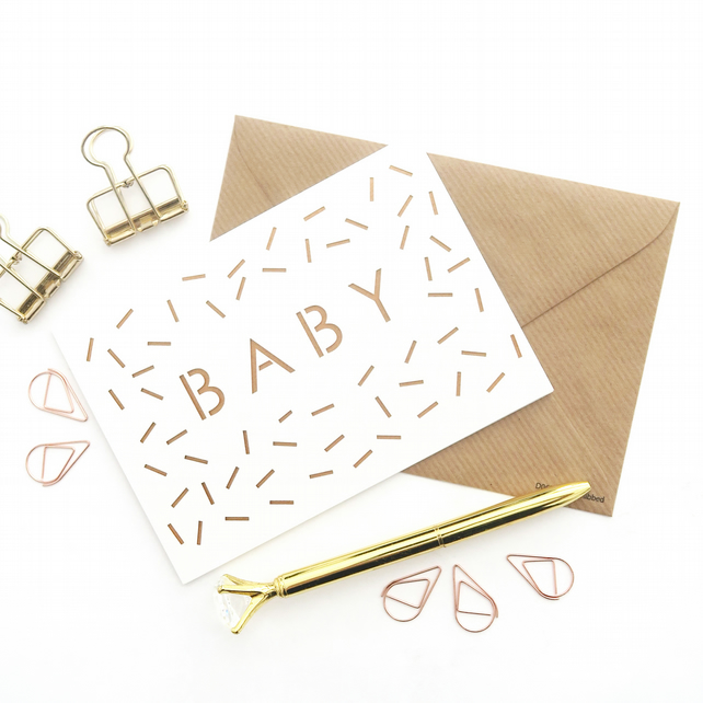 New baby card, New arrival card, Baby girl card, Baby boy card, Expecting card