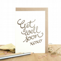 Get well soon card, Sick leave card, Recovery card, Cancer card, Sympathy card