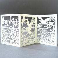 Thinking of you card, Sympathy card, Condolence card, Mourning card