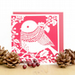 Christmas card, Cute Christmas card, Merry Christmas card, Bird lover card