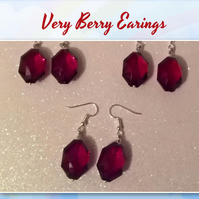 Very Berry Earings (short)