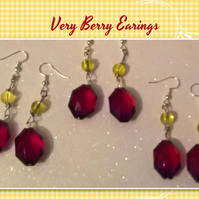 Very Berry Earings (Medium)