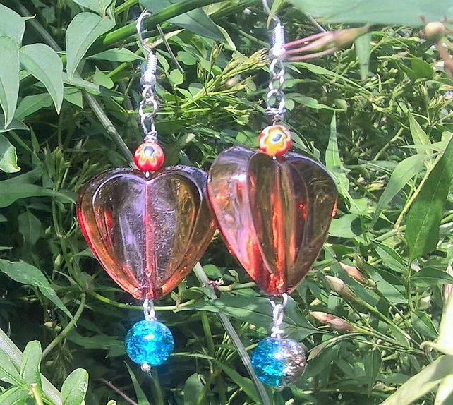 Heart to heart Earings
