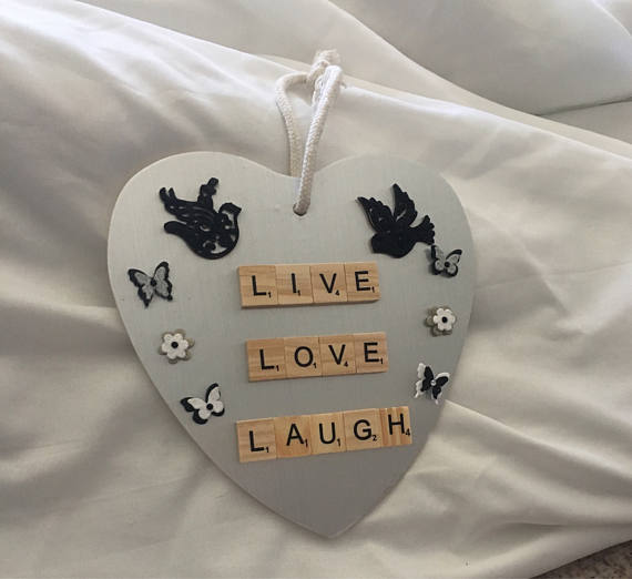 Live, Love Laugh wall plaque