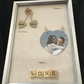 Two people fell in love Picture frame